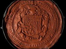Pedido de anulação de casamento de Henrique 8º enviado ao papa Clemente 7º (Scrinium/Divulgação)