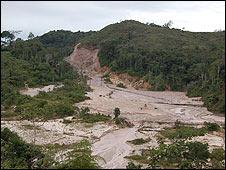 Minas de diamantes en Venezuela. Foto: Anahí Aradas.
