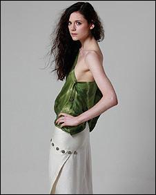 Diseño en seda y bambú