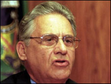 o ex-presidente brasileiro Fernando Henrique Cardoso