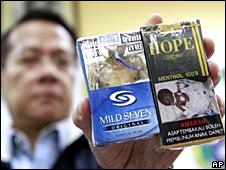 Campaña anti-tabaco de Filipinas