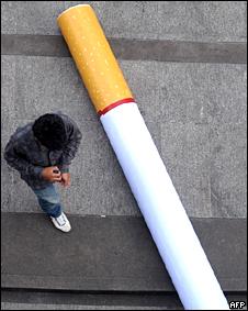 Campaña contra el cigarrillo en Tailandia