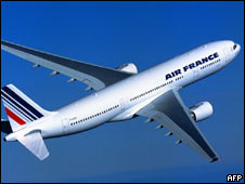 Airbus 330 de Air France (Foto:Archivo)