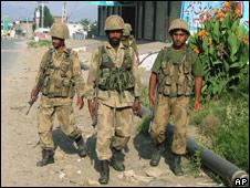 سوات میں پاکستانی فوج