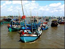 Nhiều chủ tàu cá Việt Nam lo ngại trước lệnh cấm đánh cá trong vịnh Bắc Bộ của Trung Quốc