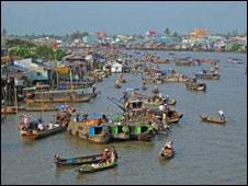 Mekong, dòng sông quan trọng đối với đời sống của 60 triệu dân tại bốn nước vùng lưu vực