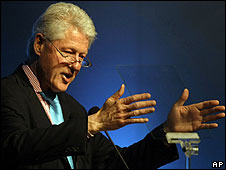 Ex presidente Bill Clinton.