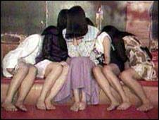 Prostitutas menores en Tailandia