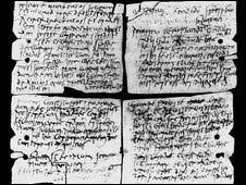 Tabletas romanas (Cortesía: Museo Británico)