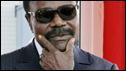 Omar Bongo former Gabonese president
