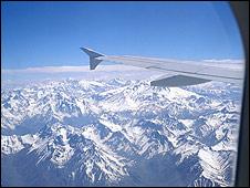 La Cordillera de los Andes se achica