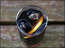 Vaso de Coca-Cola