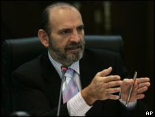 Yehude Simón, presidente del Consejo de Ministros del Perú.