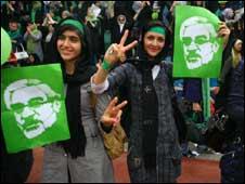 Tuần hành ở Iran phản đối kết quả bầu cử