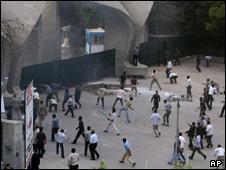 حمله به دانشگاه تهران