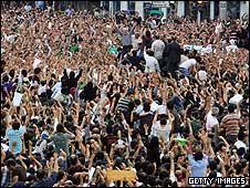 راهپیمایی های تهران