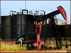 Petrolera de Las Lagunillas, en Venezuela. Archivo