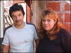 Catalina Chéves y Julio Ugas
