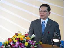Chủ tịch Việt Nam tại lễ kỷ niệm Học viện Ngoại giao - ảnh lấy từ website www.chinhphu.vn