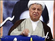 O ex-presidente iraniano Akbar Hashemi Rafsanjani (AP, 12/6)