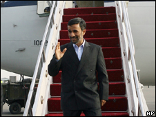 O presidente do Irã, Mahmoud Ahmadinejad (AP, 16/6)