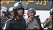 Policías iraníes