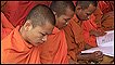 Monks in Phnom Penh. Credit: AP