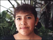 Yolanda Santos, madre mexicana.