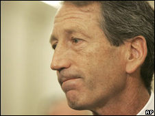 Mark Sanford, gobernador de Carolina del Sur