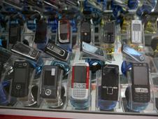 Teléfonos celulares.