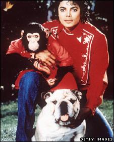 Michael Jackson y sus amigos