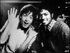 Майкл Джексон и Пол Маккартни