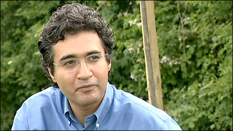 Dr Arash Hejazi, who tried to help Neda Agha-Soltan after she was shot in the street in Tehran
