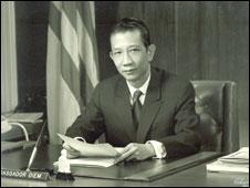 Ông Bùi Diễm cựu đại sứ VNCH tại Washington D.C.