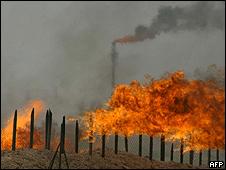 Campos de petróleo en Irak