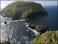 La isla de Soay en el archipiélago de Sain Kilda (Foto: Science)