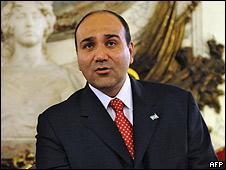 Nuevo ministro de Salud de Argentina, Juan Manzur