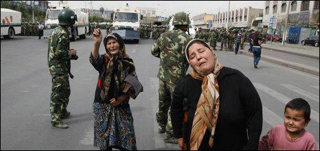 Phụ nữ Uighur tại Tân Cương
