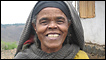 Ethiopian woman smiling