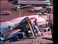Boeing da British Airways após incidente em Phoenix