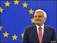 Jerzy Buzek, flamante presidente del PE