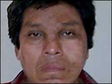 """Francisco Javier Frías Lara, """"El Chivo"""", presunto integrante de la organización criminal """"La Familia Michoacana""""."""