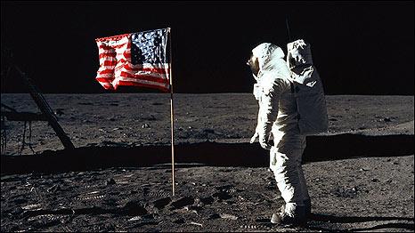 Imagenes originales tomadas por el Apolo 11