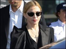 Мадонна, американская певица