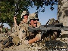 Soldados de la OTAN en Afganistán