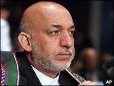 Hamid Karzai, presidente de Afganistán