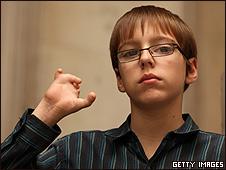 Curtis Thorpe, de 13 años
