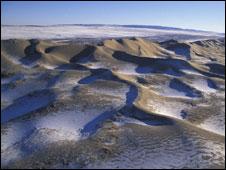 O deserto de Gobi, na Mongólia. Foto: Huw Cordey