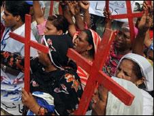 مسیحی احتجاج