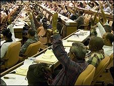 Asamblea cubana. Foto: Raquel Pérez.